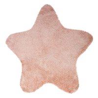 Tapis de chambre étoile rose