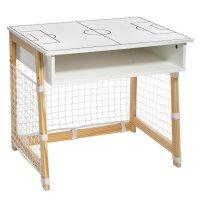Bureau blanc cage de foot