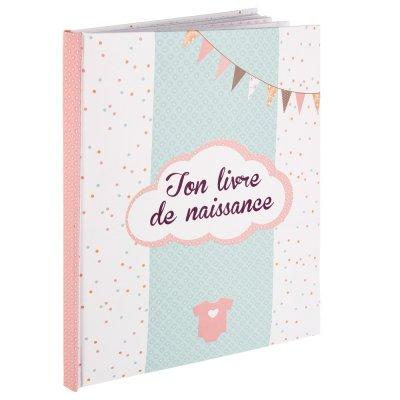 Livre de naissance 56 pages fille Atmosphera for kids