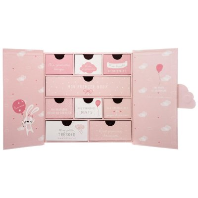 Coffret naissance nuage rose Atmosphera for kids