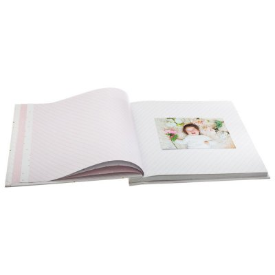 Livre photos bleu la naissance 48 pages Atmosphera for kids