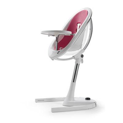 Assise bébé pour la chaise haute évolutive moon fuchsia Mima