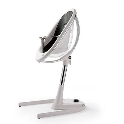 Assise bébé pour la chaise haute évolutive moon noir Mima
