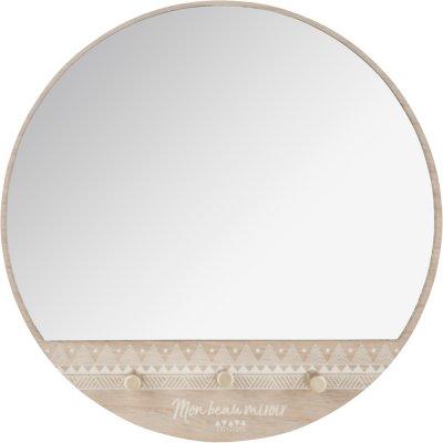 Patère miroir Atmosphera for kids