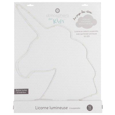 Licorne lumineuse led Atmosphera for kids