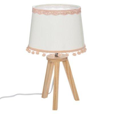 Lampe de chevet pompons Atmosphera for kids