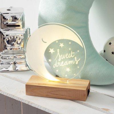 Lampe plexi lune Atmosphera for kids
