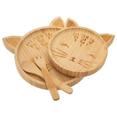 Coffret repas bambou animaux Atmosphera for kids