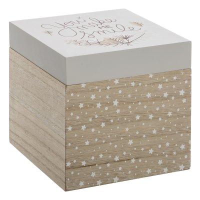 Lot de 3 boîtes de rangement en bois Atmosphera for kids