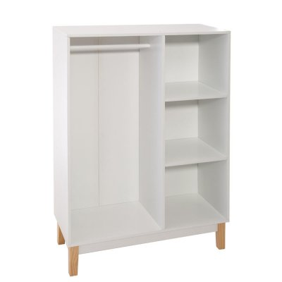 Penderie + 3 cases blanc Atmosphera for kids