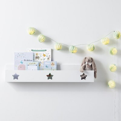 Etagère murale étoiles blanc Atmosphera for kids