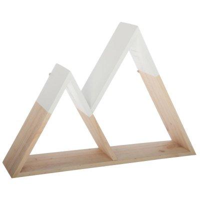 Etagère forme montagne bois Atmosphera for kids