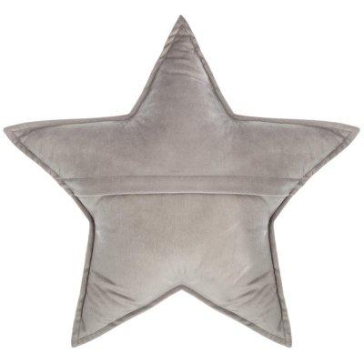 Coussin étoile gris Atmosphera for kids