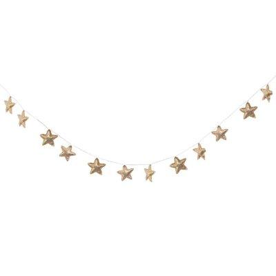 Guirlande étoiles dorées Atmosphera for kids
