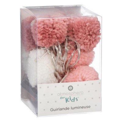 Guirlande led pompons Atmosphera for kids