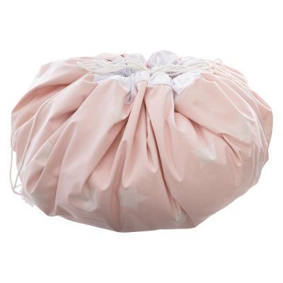 Tapis de jeux 2 en 1 sac de rangement rose Atmosphera for kids
