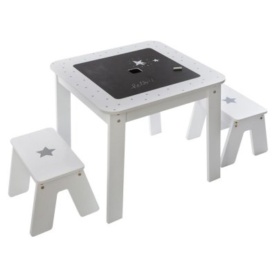 Table bac avec 2 tabourets Atmosphera for kids