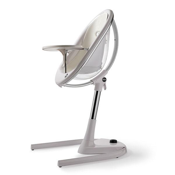 Assise bébé pour la chaise haute évolutive moon snow white Mima