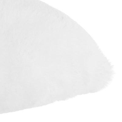 Coussin fourrure blanc Atmosphera for kids