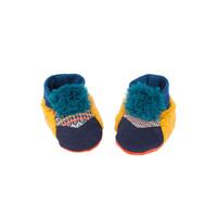Chaussons bébé bleus les zig et zag
