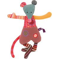 Doudou la petite souris jolis pas beaux