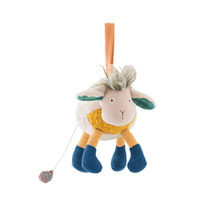 Peluche bébé musicale mouton les zig et zag