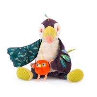 Jouet d'éveil bébé toucan pakou musical dans la jungle