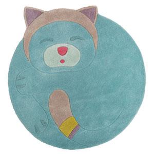 Tapis de chambre bébé en laine 110x110cm les pachats