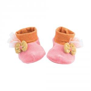 Chaussons bébé rose les tartempois