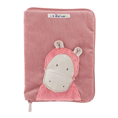 Protège carnet de santé hippo les zazous Moulin roty