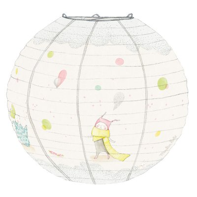 Suspension bébé lanterne déco crème les petits dodos Moulin roty
