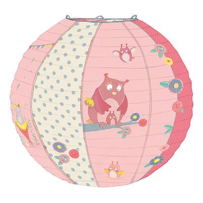 Suspension bébé lanterne en papier mademoiselle et ribambelle Moulin roty