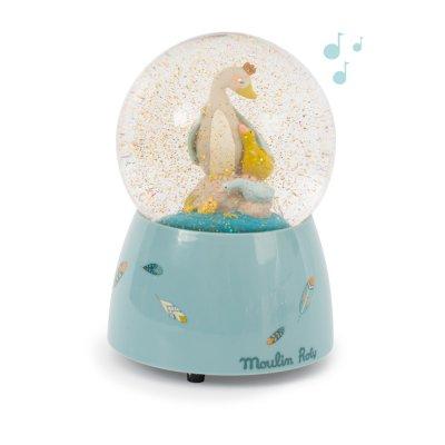 Boule à neige musicale le voyage d'olga Moulin roty