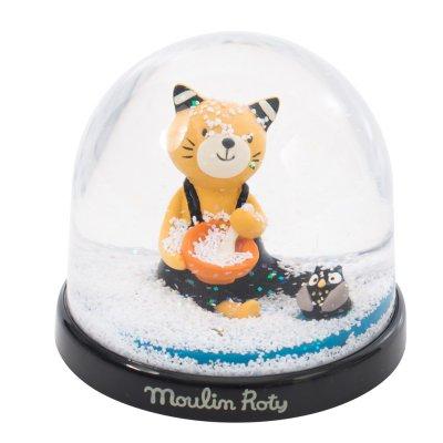 Boule à neige les moustaches Moulin roty