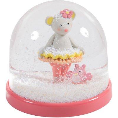 Boule à neige mademoiselle et ribambelle Moulin roty