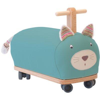 Porteur bébé chat roue folle les pachats Moulin roty