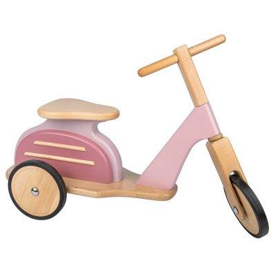 Scooter porteur rose mémoire d'enfant Moulin roty