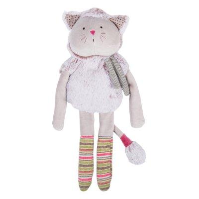 Doudou poupée chat gris les pachats Moulin roty