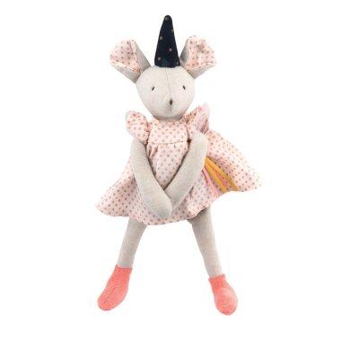 Peluche bébé petite souris mimi il était une fois Moulin roty