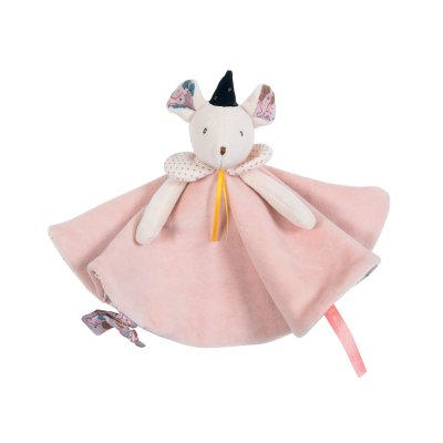 Doudou souris rose il était une fois Moulin roty