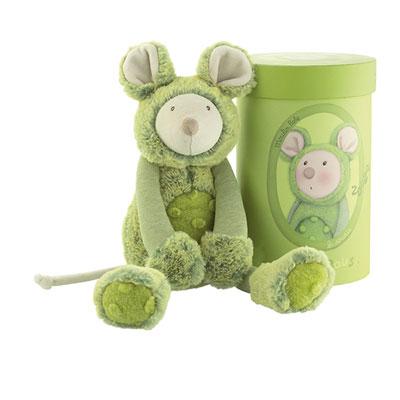 Peluche souris vert les zazous Moulin roty