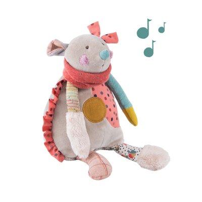 Peluche bébé musicale souris les jolis trop beaux Moulin roty
