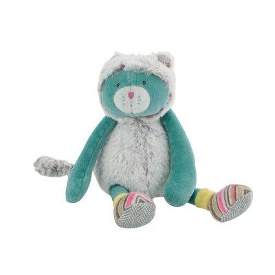 Doudou petit chat bleu les pachats Moulin roty