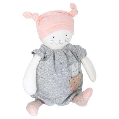 Peluche bébé musicale moon le chat les petits dodos Moulin roty