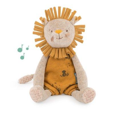 Poupée bébé musicale lion sous mon baobab Moulin roty