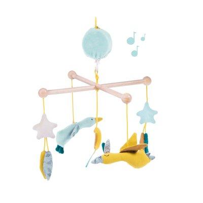 Mobile bébé musical le voyage d'olga Moulin roty