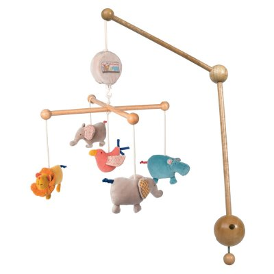 Mobile bébé musical les papoum Moulin roty