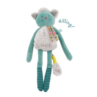 Hochet chat bleu les pachats Moulin roty