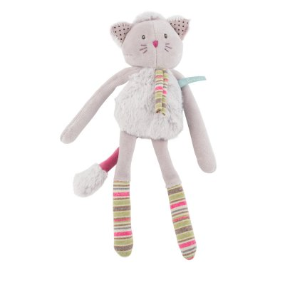 Hochet chat gris les pachats Moulin roty