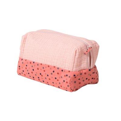 Trousse de toilette rose les jolis trop beaux Moulin roty